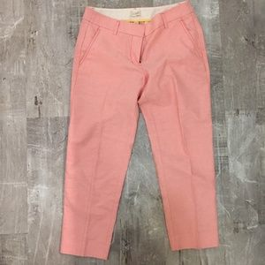 J Crew Salmon Trousers
